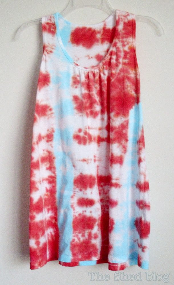 Tie Dye Stripe Tutorial - awesomse step-by-step with photos!