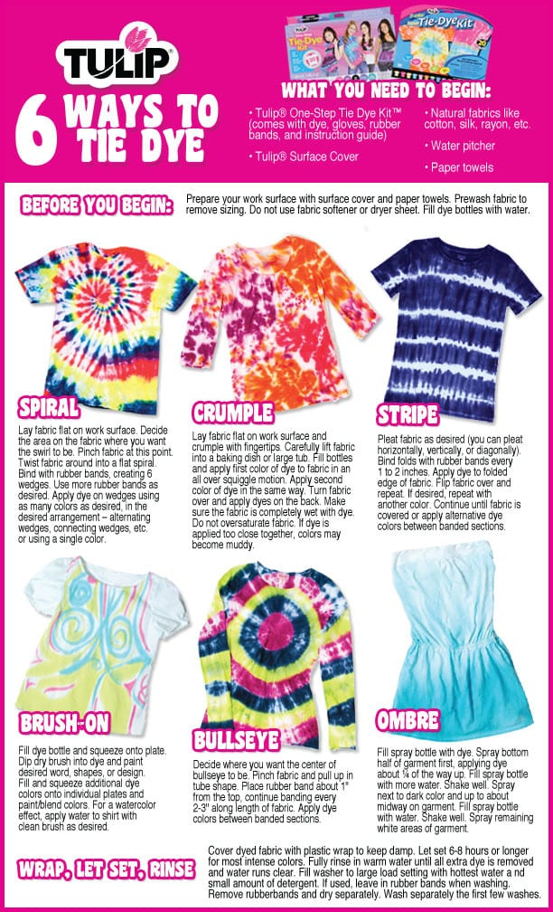 Tie Dye Summer Top Diy Using Tulip Tie Dye Kits Pet Scribbles
