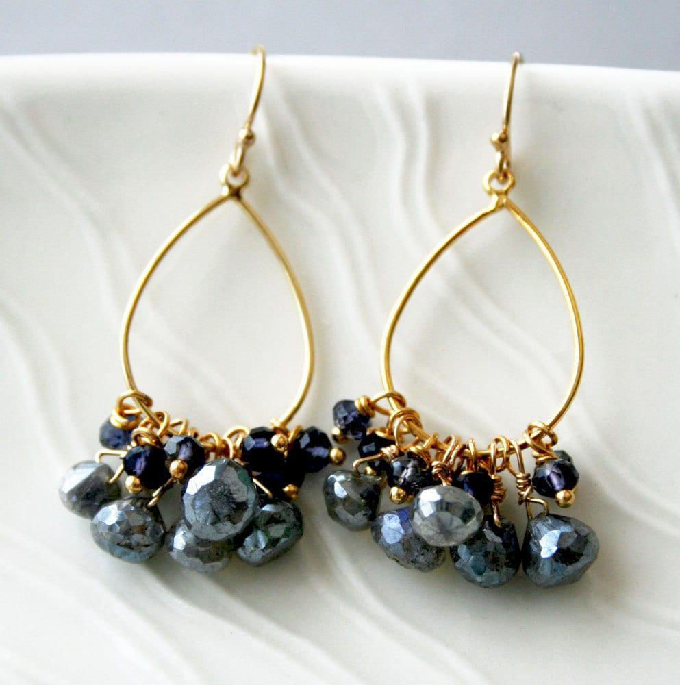 Do You Ear What I Ear? My Handmade Earrings Addiction: Blue Denim ...