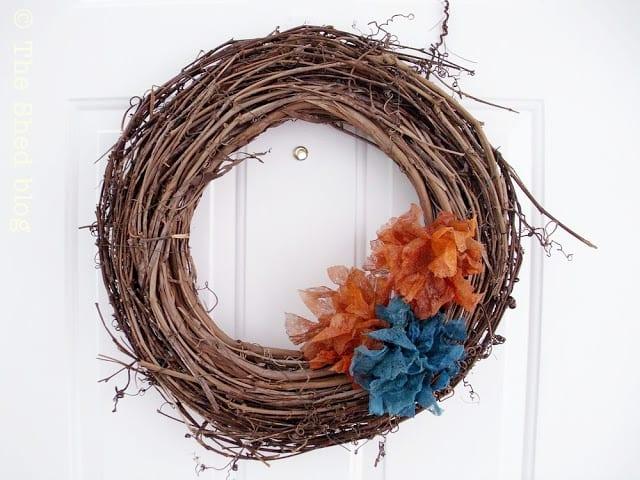Dryer Sheet Flower Tutorial - The Shed blog