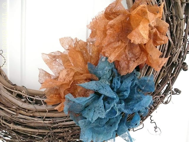 Dryer Sheet Flower Tutorial - The Shed blog