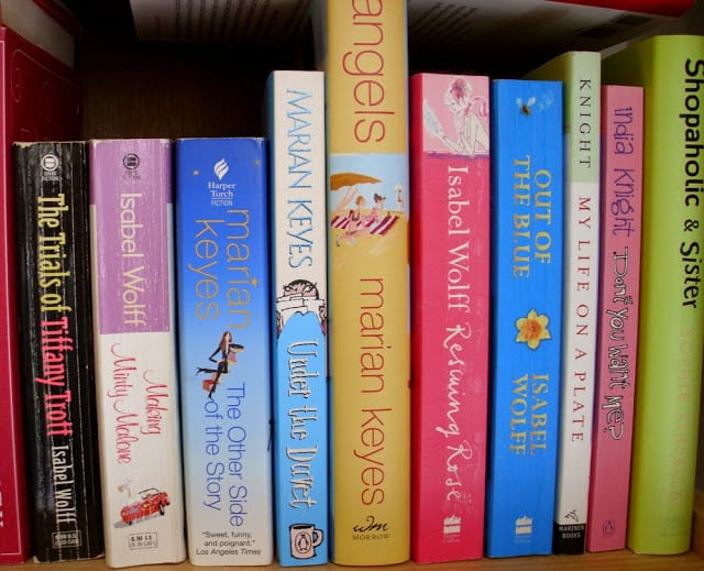 British Chick Lit Books - What I love to read - The Shed blog