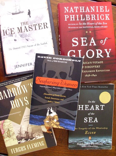 Seafaring books - What I love to read - The Shed blog