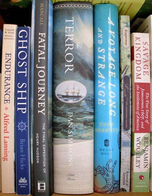 Voyage and Discovery Books - What I love to read - The Shed blog