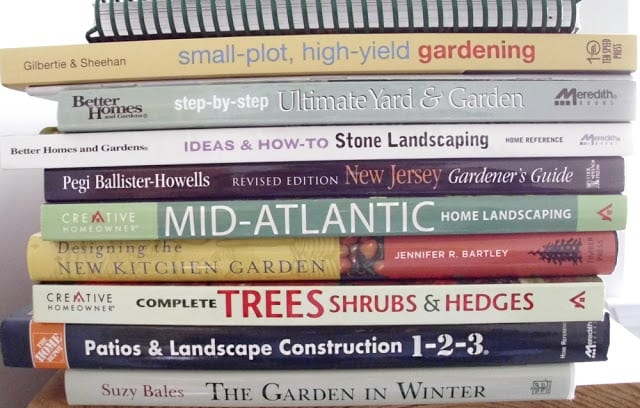 Gardening Books - What I love to read - The Shed blog