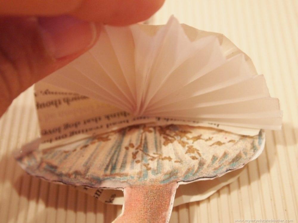 paper ballerina craft