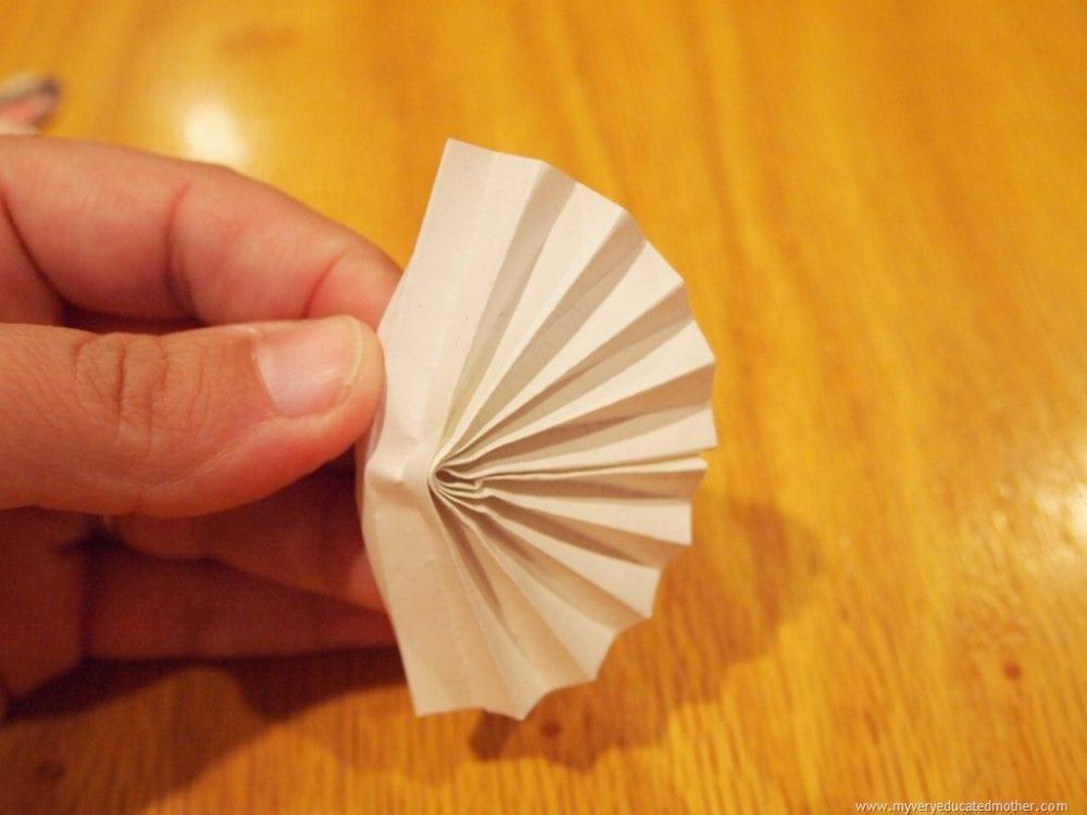 paper ballerina ornament tutorial
