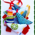 Meaningful Christmas Ornaments DIY: Holiday Mini Trees from The Sewing Loft