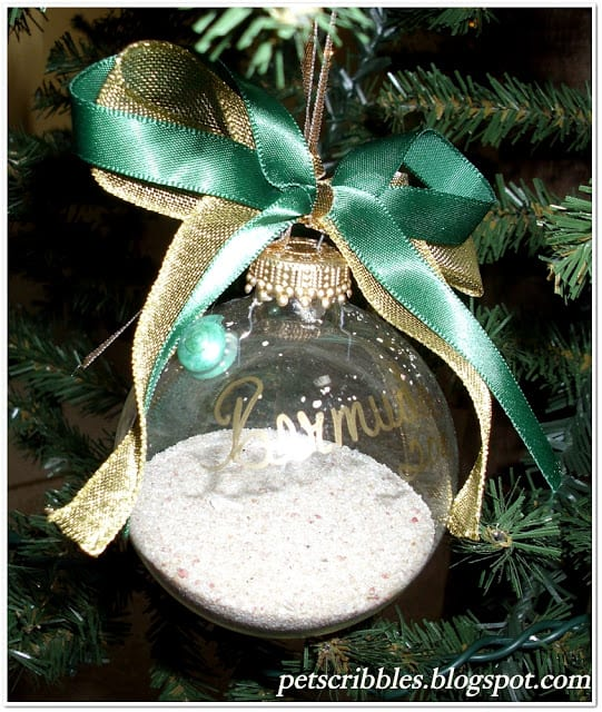 Meaningful Christmas Ornaments: childhood memories | The Shed by Pet Scribbles