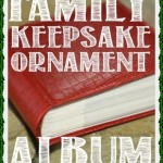 Meaningful Christmas Ornaments: Family Keepsake Ornament Album from View Along The Way