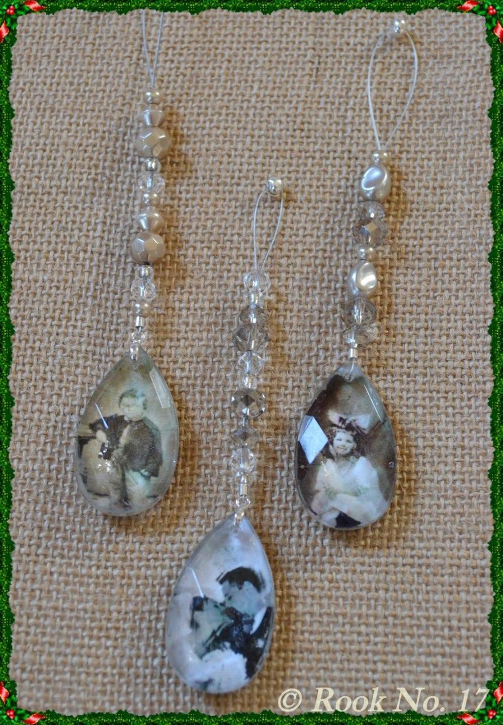 Crystal Pendant Keepsake Ornament
