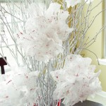Valentine Dryer Sheet Flowers DIY