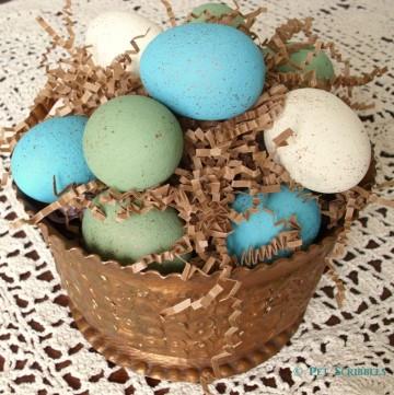 DIY Faux Bird Eggs for Spring