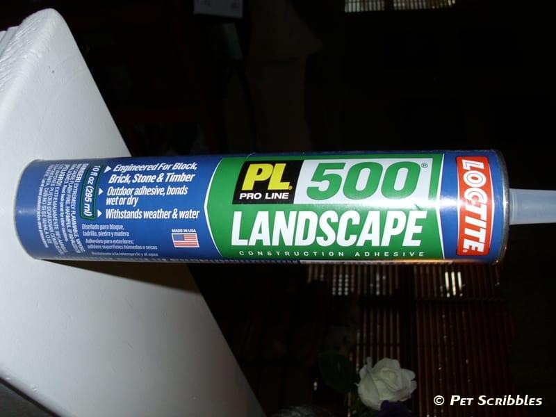 LOCTITE PL 500 Landscape Construction Adhesive