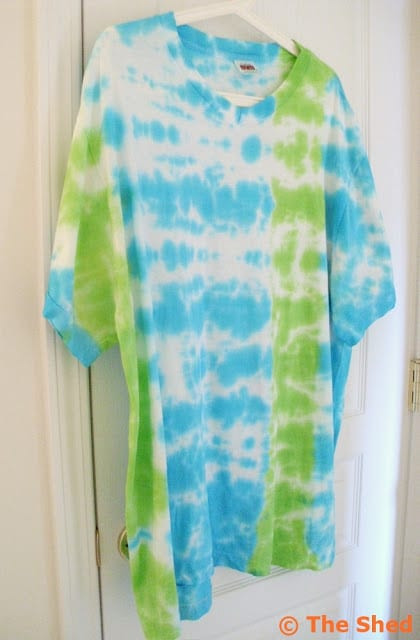 Men's Tie Dyed T-Shirt - how to make your own!