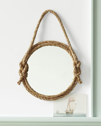 DIY Rope Mirror from Martha Stewart | Apartment Therapy