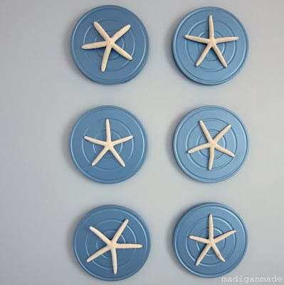 Framed Starfish Plaques | Madigan Made