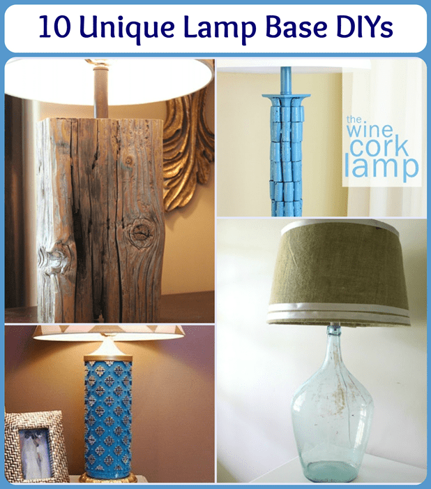 10 Unique Lamp Makeovers