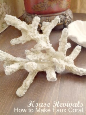 Diy Sea Life 10 Easy Ways To Make Faux Seashells Coral