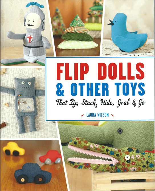 Flip Dolls and Other Toys by Laura Wilson