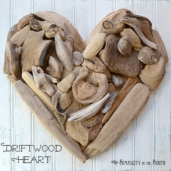 Driftwood Heart Art (A Tutorial) | Simplicity in the South