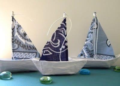 Bandana Boat DIY | Homework