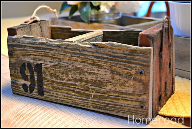 Driftwood Crate DIY | Homeroad