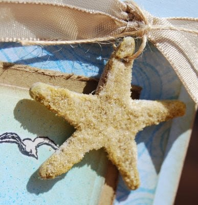 Chipboard Starfish DIY | Thoughts of a Cardmaking Scrapbooker