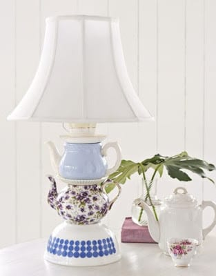 Teapot Lamp Tutorial | Country Living