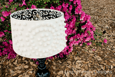 DIY Pom Pom Lampshade | Uncommon Designs