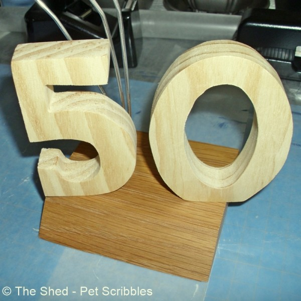 unfinished wood numbers