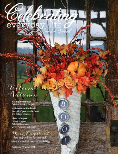 Celebrating Everyday Life with Jennifer Carroll: a gorgeous, stunning and inspiring magazine!
