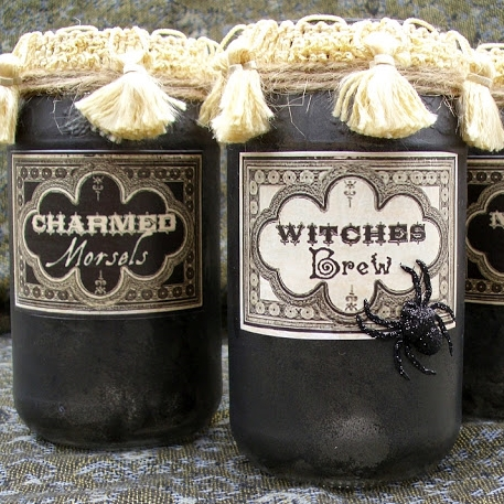 Vintage Potion and Spell Jars DIY | The Shed by Pet Scribbles