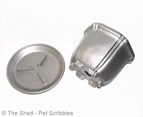 DIY Silver Gilded Cachepot