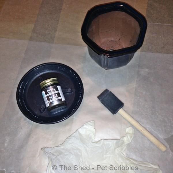 How to use Martha Stewart Crafts Liquid Gilding in Silver