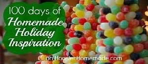 Hoosier Homemade's 100 Days of Homemade Holiday Inspiration -- hoosierhomemade.com