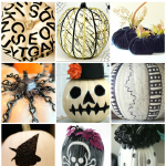 Black and White Pumpkins: 18 Stunning DIYs