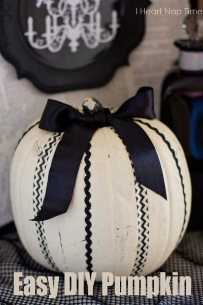 DIY Washi Tape Pumpkin | I Heart Nap Time