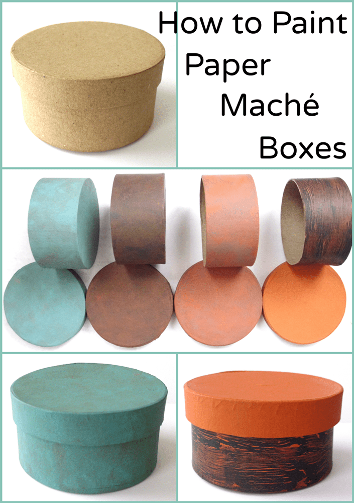 How To Paint Paper Maché Bo 4 Easy Examples