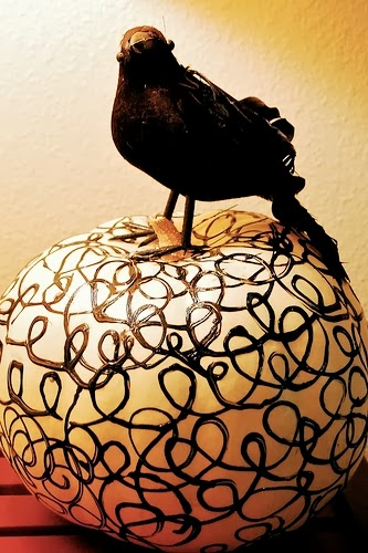 Blackbird Swirl Pumpkin Tutorial | The Swell Life