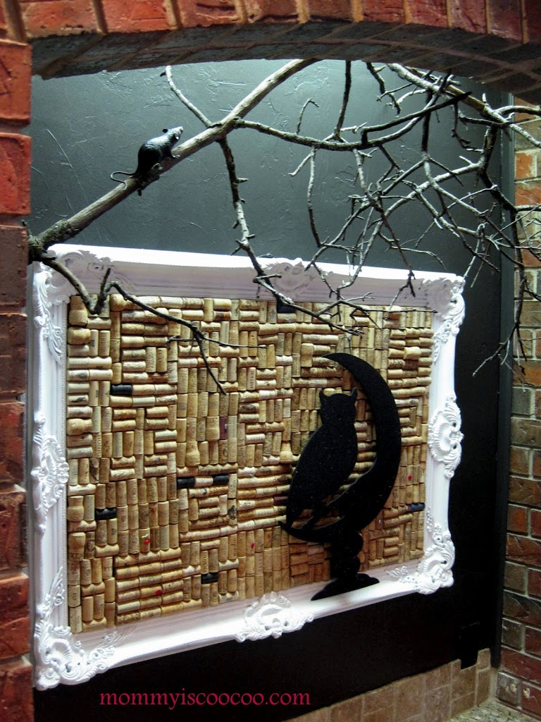 Free Spooky Branch Decoration! Easy DIY from Mommy is Coocoo
