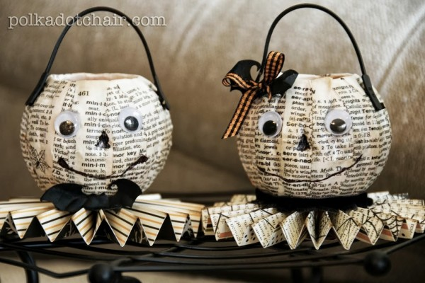 Mr. and Mrs. O'Lantern DIY | Polka Dot Chair