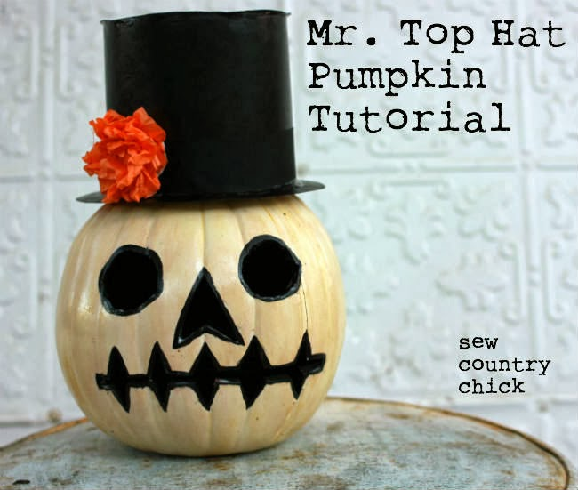 Mr. Top Hat Pumpkin