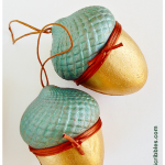 Paper Maché Acorn Boxes: Easy Paint DIY
