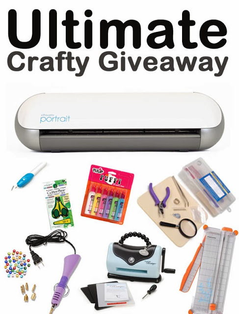 Ultimate Crafty Giveaway: Enter to win over $250 in craft supplies, including a Silhouette!