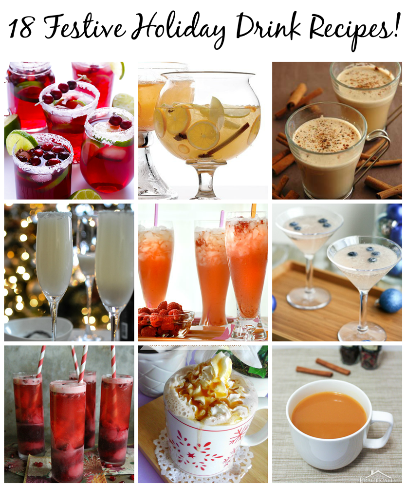 18 festive holiday drink recipes pet scribbles for Vodka mixed drink recipes simple
