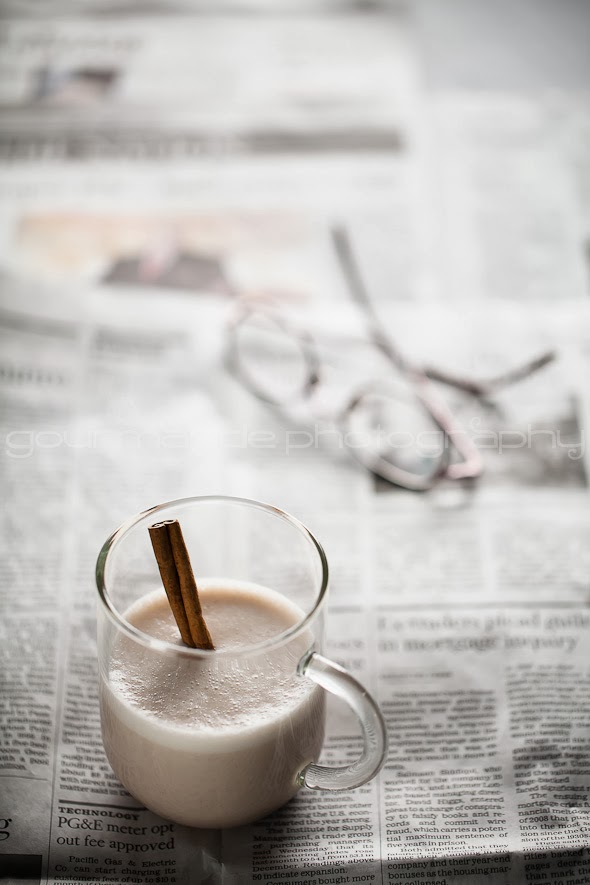 Hot Spiced Cashew Coconut Milk Recipe by Gourmande in the Kitchen