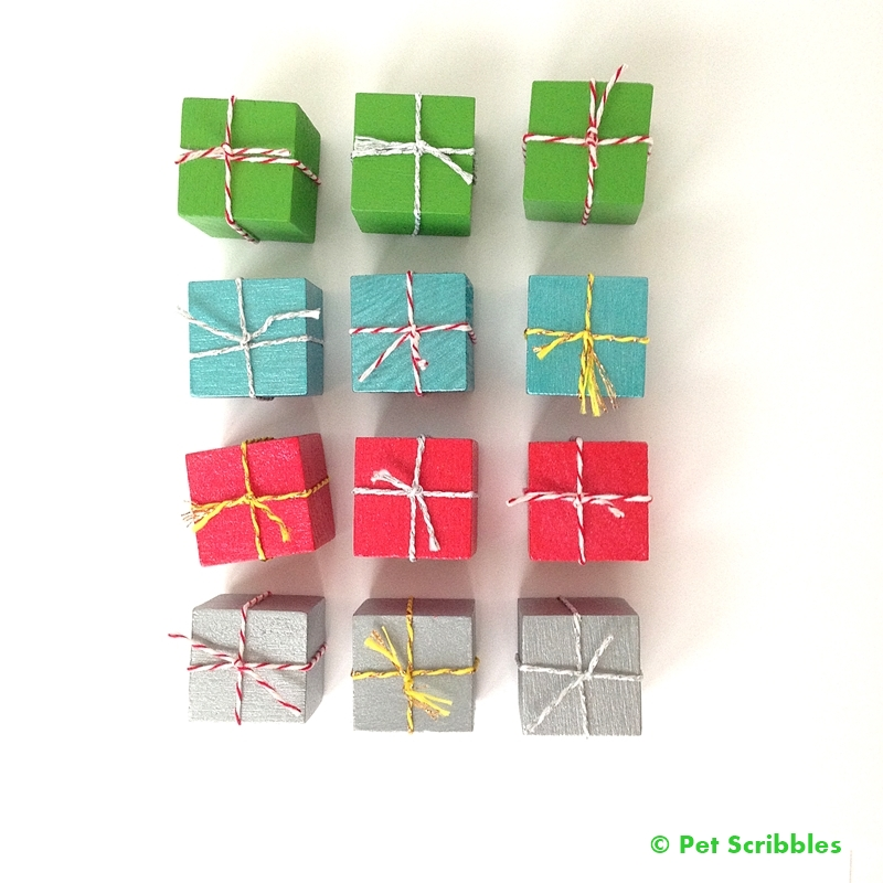 Christmas Craft: Miniature Christmas Presents DIY