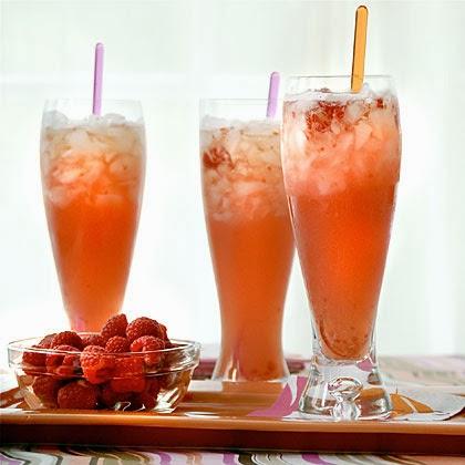 Raspberry Beer Cocktail Recipe from Southern Living via MyRecipes.com