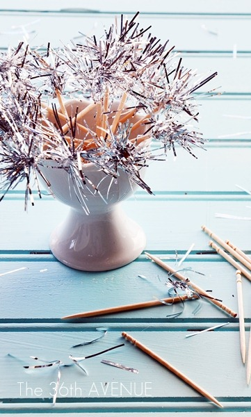DIY Sparklers Toothpick Toppers by The 36th Avenue